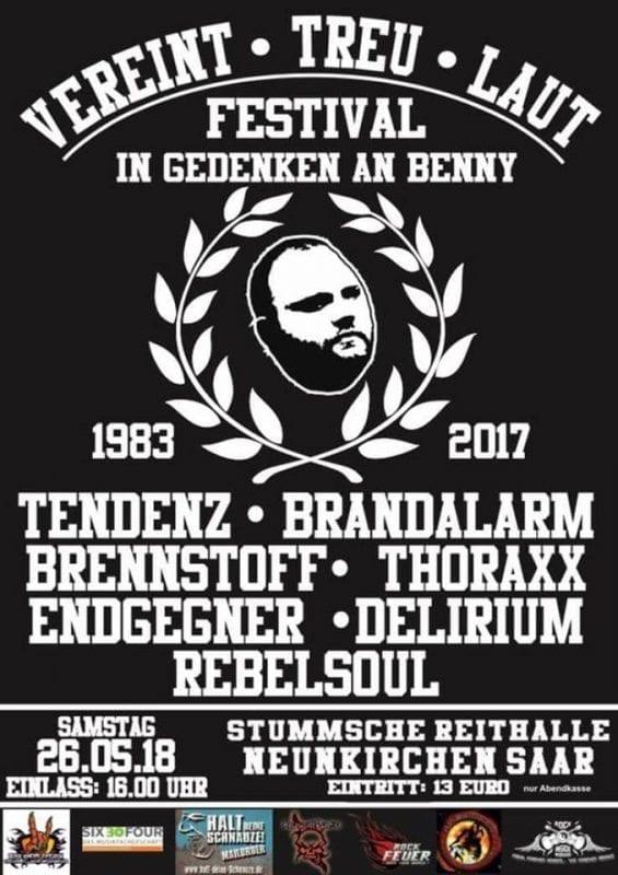 """Vereint - Treu - Laut"" Festival 2018"