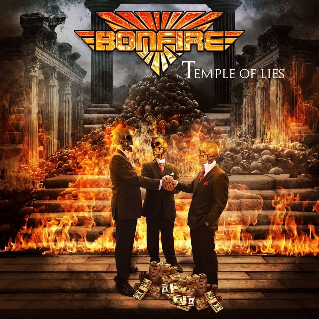 "Bonfire: Neues Album ""Temple Of Lies"" am 13. April 2018"
