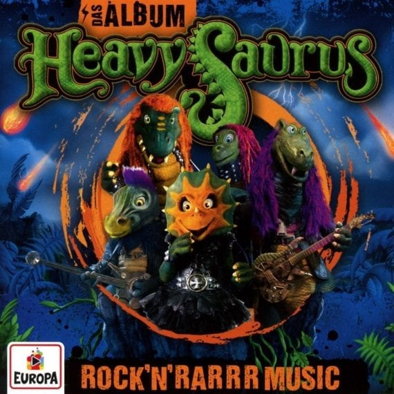 Heavysaurus – Rock'n'Rarrr Music