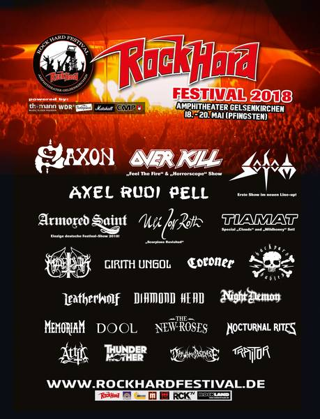 Official Flyer: Rock Hard Festival 2018