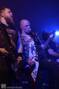 Fotos: Teutonic Slaughter, Total Annihilation, Three Minute Record - Dröhnschuppen Gladbeck, 31.03.2018