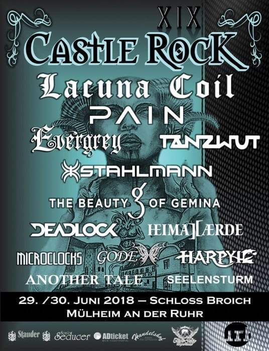 Official Flyer: Catle Rock 2018 (Autor: Michael Bohnes)