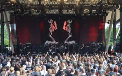 Fotos: Rock Hard Festival 2018 - Tag 2 - Leatherwolf & Cirith Ungol & Marduk