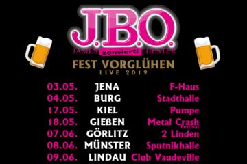 J.B.O. - Fest Vorglühen 🍻 und neues Album 💿 2019