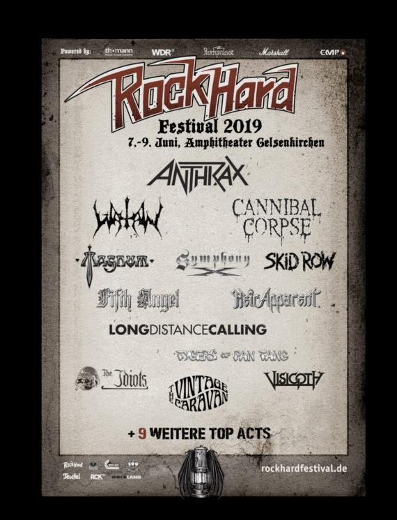 Rock Hard Festival 2019: Anthrax und The Vintage Caravan sind mit dabei
