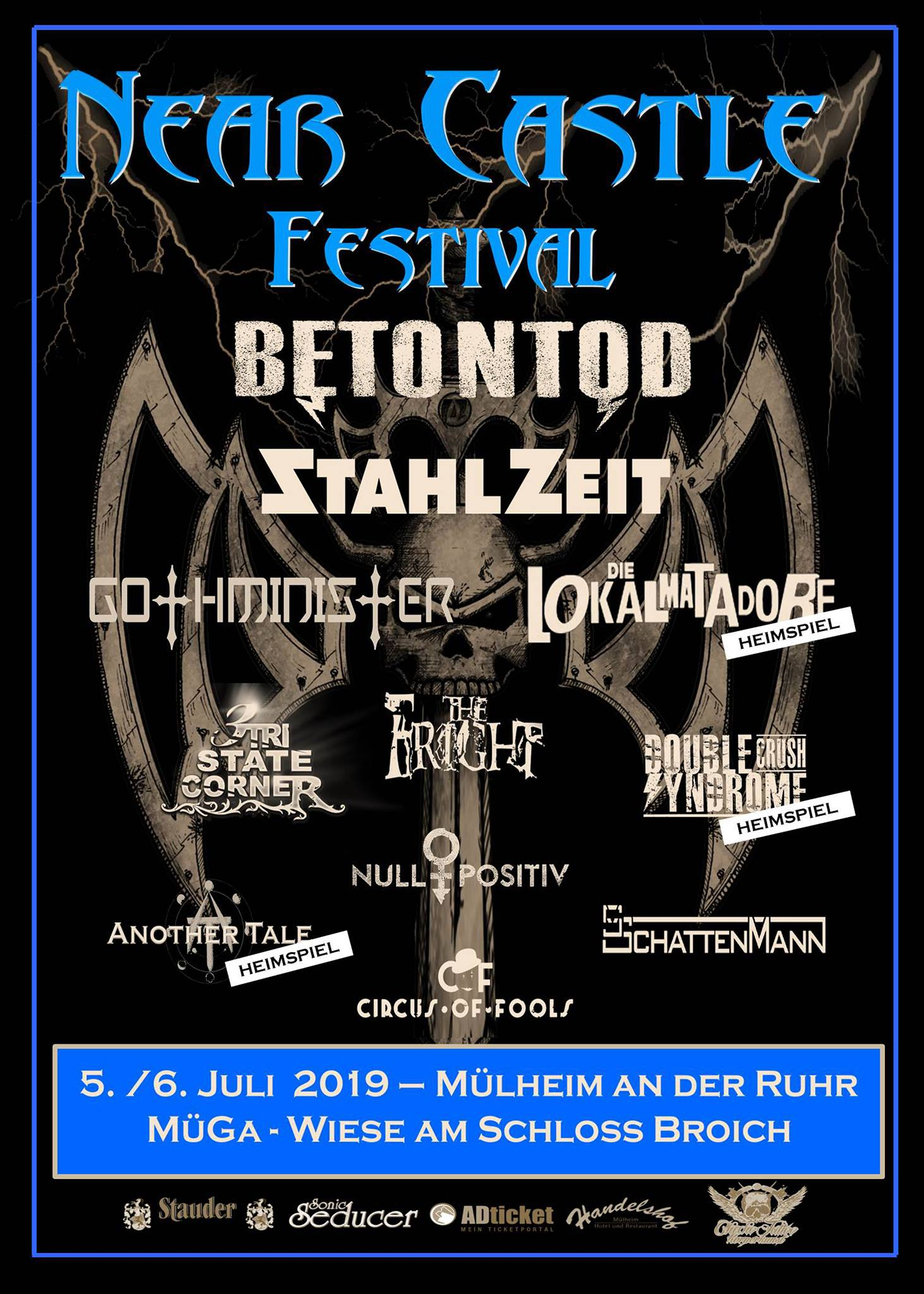 Official Flyer: Near Castle 2019 (Autor: Michael Bohnes)