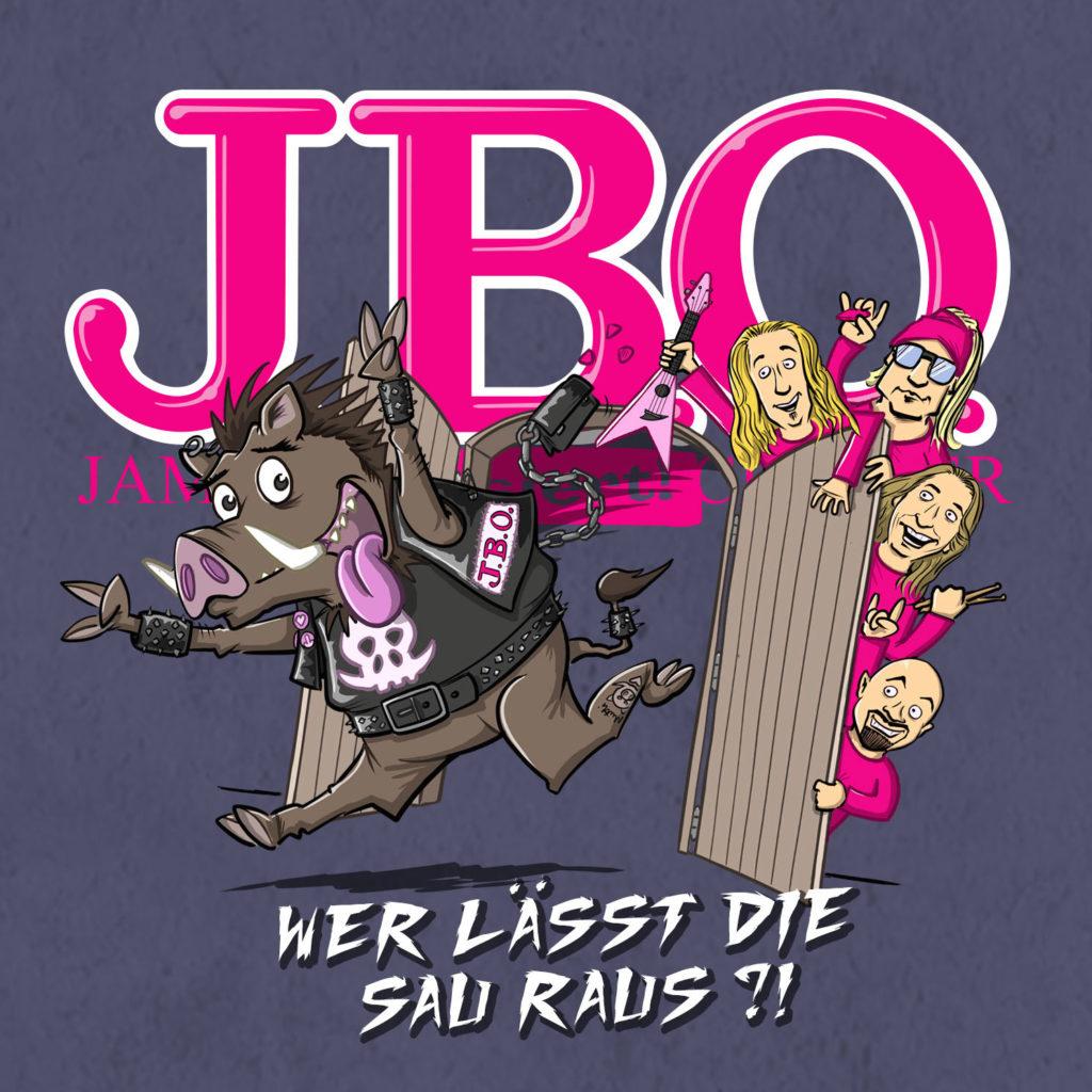 Cover: J.B.O. - Wer lässt die Sau raus?!
