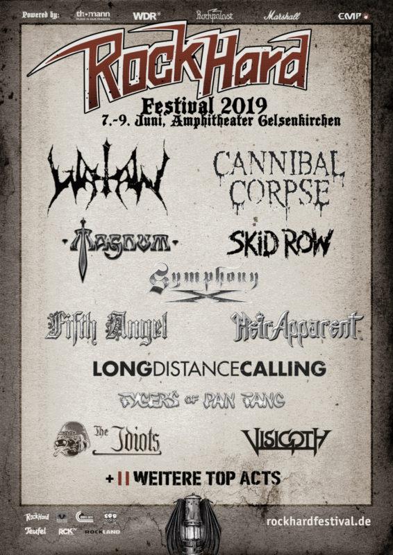 Rock Hard Festival 2019: vier weitere Bands im Billing