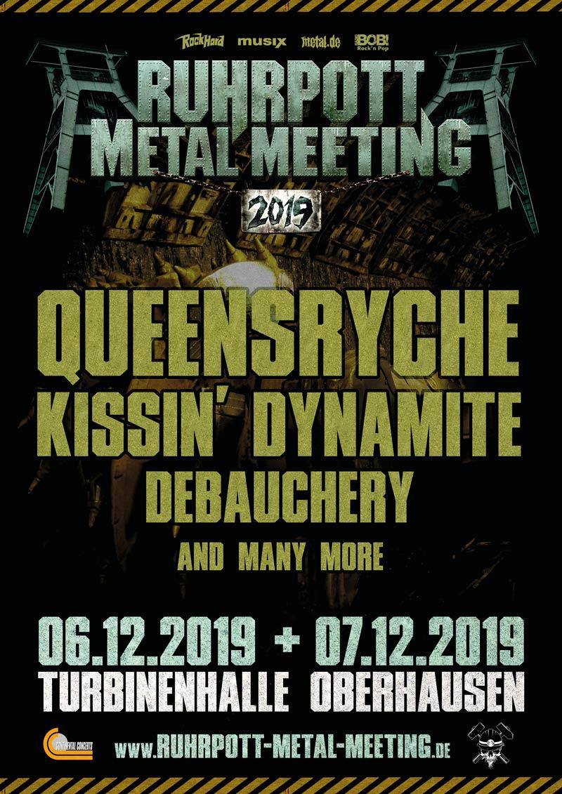 Official Flyer: Ruhrpott Metal Meeting (2019-03)