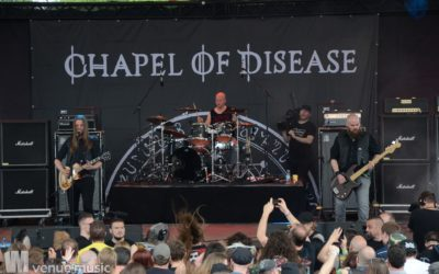 Fotos: Rock Hard Festival 2019 - Tag 1 - Chapel of Disease, The Idiots, Tygers of Pan Tang