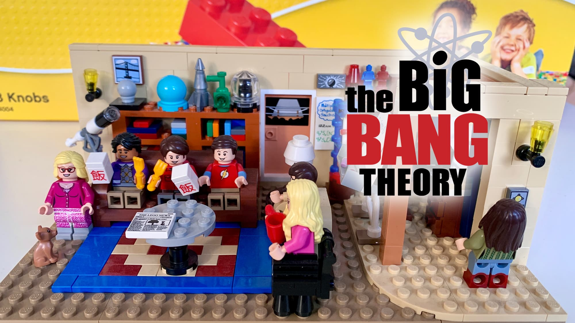 The Big Bang Theory - Lego-Set