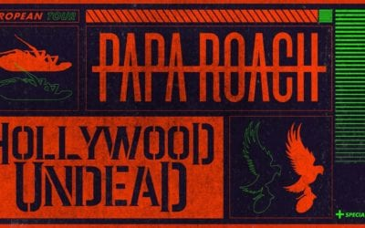 PAPA ROACH auf Europatour mit HOLLYWOOD UNDEAD + ICE NINE KILLS