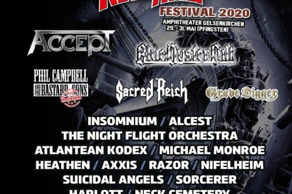 Rock Hard Festival: 5 neue Bands im Billing