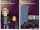 Cartoon: Nachteile von Drive-In-Konzerten