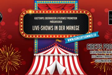 Kulttempel Oberhausen: Konzertsommer im Revier