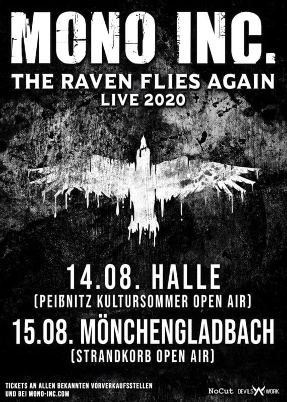 MONO INC. The Raven Flies Again - Sommerkonzerte 2020