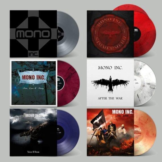"""Mono Inc.: Vinyl-Komplettbox """"The Sound of the Raven"""" veröffentlicht"""