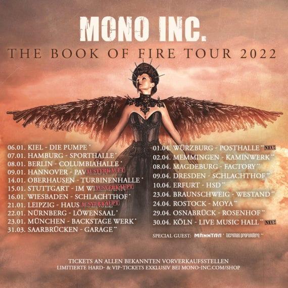 Mono Inc.: Tour erneut verschoben - neue Strandkorbkonzerte für 2021 bestätigt