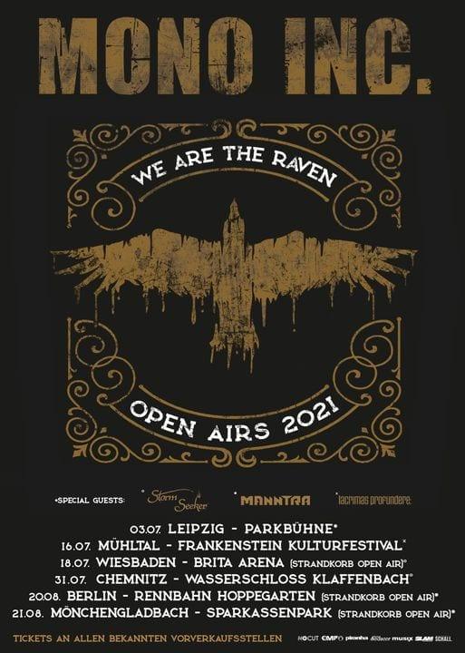 Mono Inc. - We are the Raven 2021