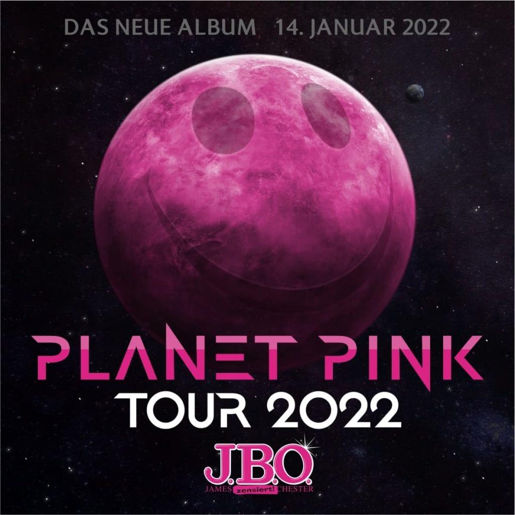 "J.B.O. - Neues Album ""Planet Pink"" am 14.01.2022"