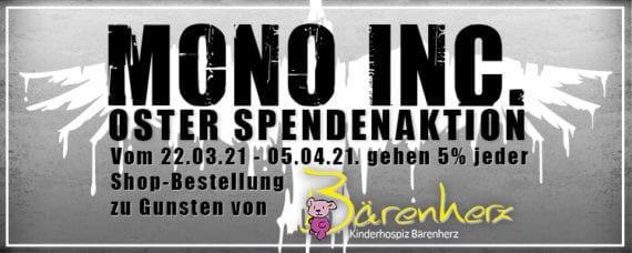 Mono Inc.: Spendenaktion für das Kinderhospiz Bärenherz