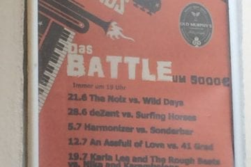 Old Murphy's Battle of the Bands: Sonntag geht es weiter